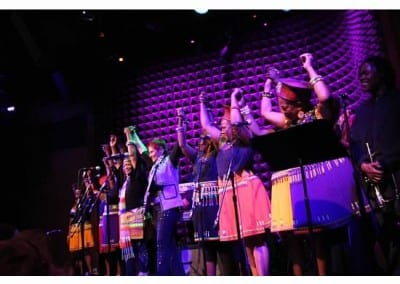 Performing at Joe's Pub NYC w Sahavo